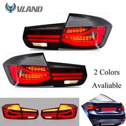 Entrega rápida VLAND luces de cola de la Asamblea para 12-18 BMW Serie 3 F30 F80 2013-2018 luz trasera LED con intermitente trasero luces