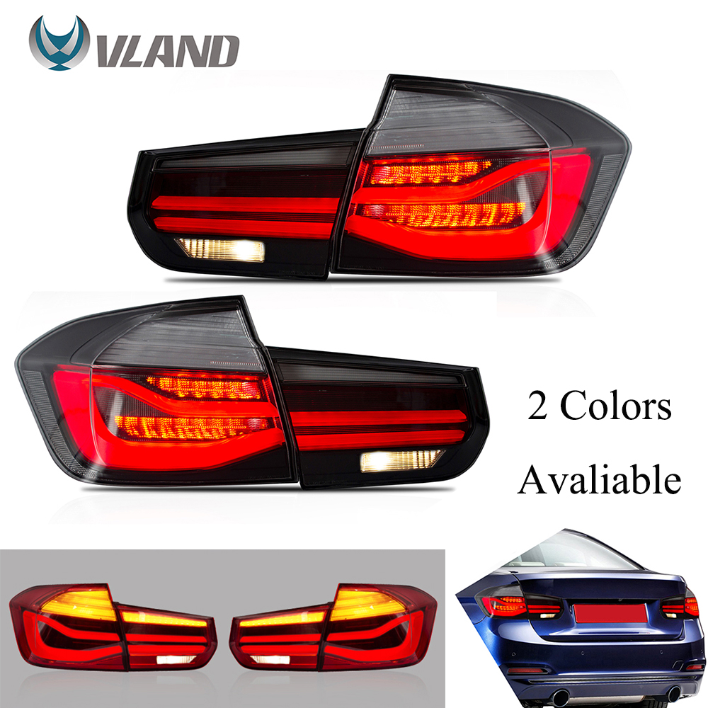 VLAND Tail Lights Assembly For 12-18 BMW 3 Series F30 320i 335i 328i M3 2013-2015 LED DRL Tail Lamp Turn Signal Reverse Lights