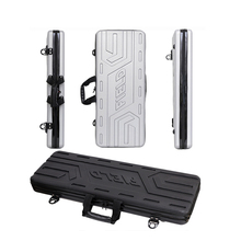 Tool box long case outdoors luggage Fishing bag gun bag box plastic toolbox safety Transport box suitcase with foam lining