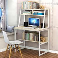 UK/US/AU warehosue Desk Student Study Office PC Computer Table Steel MDF Laptop Furniture Home White/Yellow