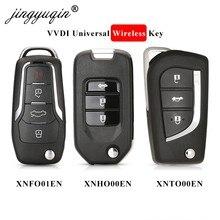 Jingyuqin 5 stücke Xhorse XNFO01EN /XNHO00EN /XNTO00EN Wireless Universal-fernbedienung Schlüssel 3/4BTN Für VVDI2/VVDI schlüssel Werkzeug Englisch Version