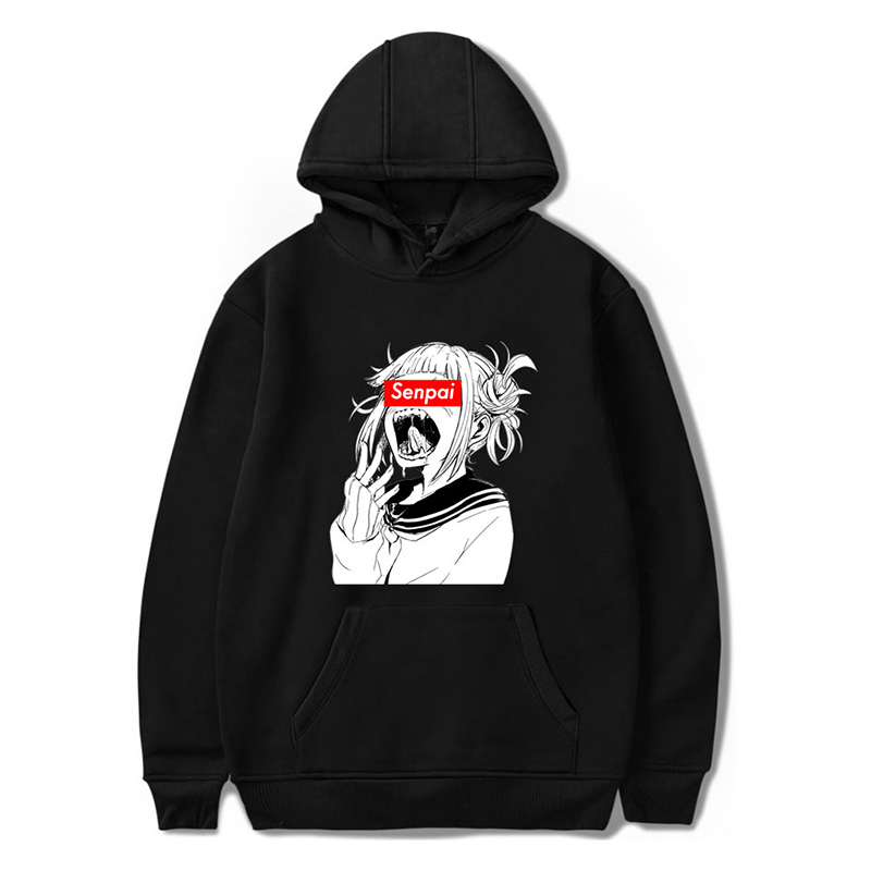 3d Hoodies Pullover Fashion Funny Anime Senpai Hip Hop Men Women Hoodie Hoody Casual Long Sleeve 3D Hooded Sweatshirt Jacket Top