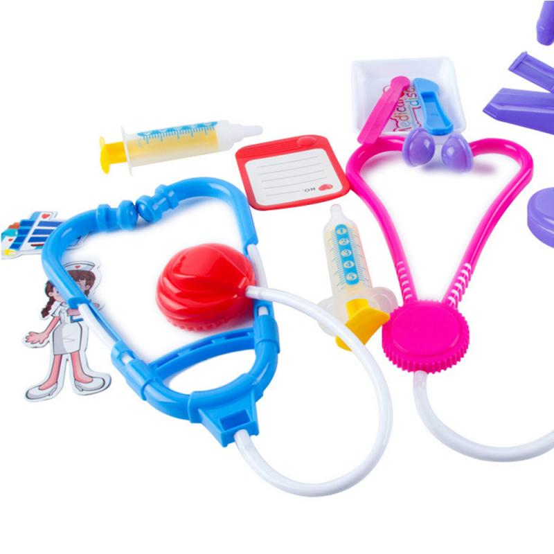 Child Play House Doctor Pretend Play Toy Set Role Playing Simulation See A Doctor For Children Kids