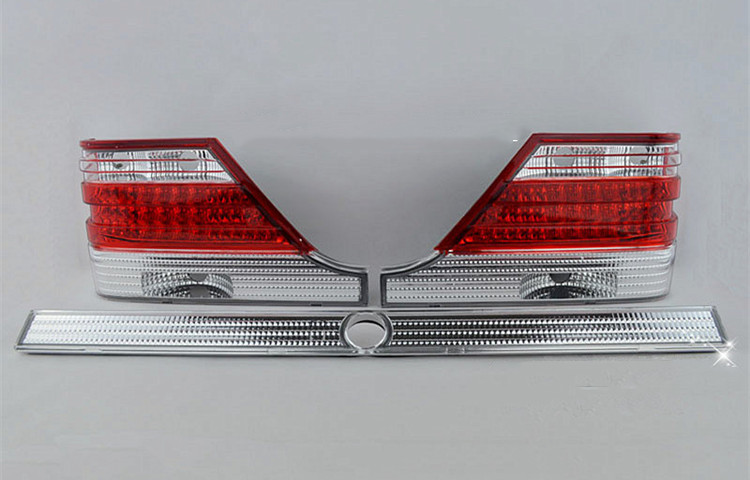 led rear lights assembly for <font><b>mercedes</b></font> benz <font><b>W140</b></font> S320 <font><b>S500</b></font> S600 image