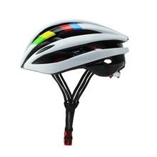 Наружное оборудование взрослый велосипедный шлем с задним светодиодный светильник, велосипедный шлем Велоспорт, велосипедный шлем с подсветкой
