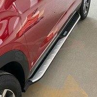 Trittbretter seite schritt bar fit für Hyundai Creta IX25 2016 2017 2018 2019 aluminium legierung