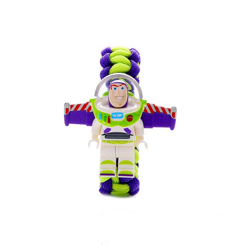 Brinquedo história 4 buzz pulseira homem de ferro batman blocos de construção legoinglys minifiguresing brinquedos marveling vingersin minecrafted figura