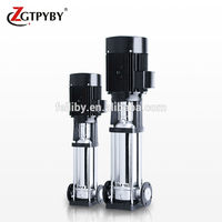 cdlf stainless steel vertical multistage pump high pressure multistage water pump 20bar for high rise building
