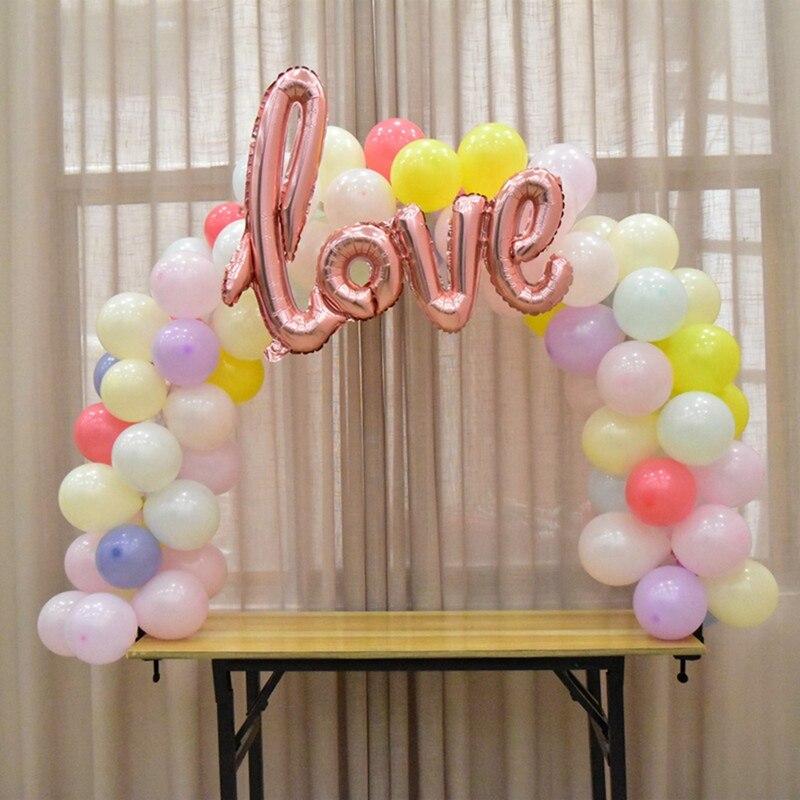 Изысканная креативная настольная АРКА, съемные Свадебные украшения, домашние Уникальные DIY настольные арки, вечерние праздничные принадлежности