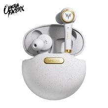 whizzer TP1S wireless Bluetooth earphone 3D stereo wireless earphone fone de ouvido kulaklık наушники dual microphone Christmas