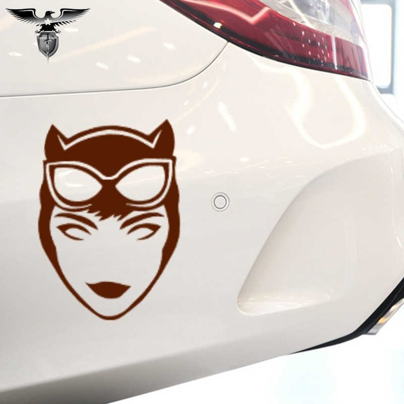 الكرتون فيلم أبطال مثير إغراء Catwoman سيارة ملصق SUV الوفير دراجة نارية محمول كاياك سيارة التصميم ملصق حائط من الفينيل 10 اللون