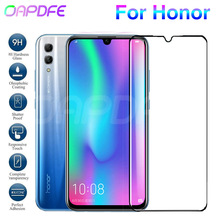 9D Protective Glass on the For Honor 8X 8C 8A 20 20i 10i 9i V20 V10 V9 Play Note 10 Tempered Screen Protector Glass Film Case