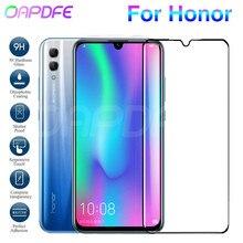 9D verre de protection sur le pour Honor 8X 8C 8A 20 20i 10i 9i V20 V10 V9 Note de jeu 10 étui de Film de verre trempé protecteur décran