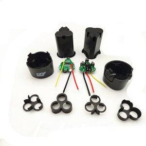 Image 2 - 핸드 드릴 키트 액세서리 전기 스크루 드라이버 3s bms 리튬 이온 12.6V 18650 핸드 전기 드릴 pcb 배터리 보관 케이스 상자
