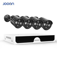 JOOAN H.265 48V 4CH 4MP POE NVR Systeem Outdoor PoE IP CCTV Security Camera Waterdichte Infrarood CCTV Camera Beveiliging systeem kit(China)