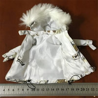 1/6 Scale FS73013 Snow Queen Women Warm Clothing Female Fashion Down Jacket Clothes for 12 Action Figures Body Doll Toy