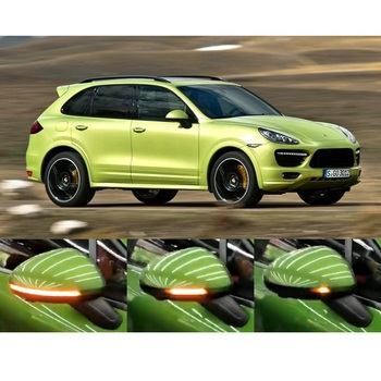 for Porsche Cayenne 958 E2 92A 2011- 2017 Dynamic LED Blinker Sequential Turn Light Indicator Accessories