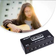 Mosky Audio DC-TANK chitarra portatile effetti pedale alimentazione con 6 uscite isolate per sei pedali 9V contemporaneamente nuovo