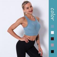Сетчатые спортивные кроп топы Для женщин майки для фитнеса дышащий