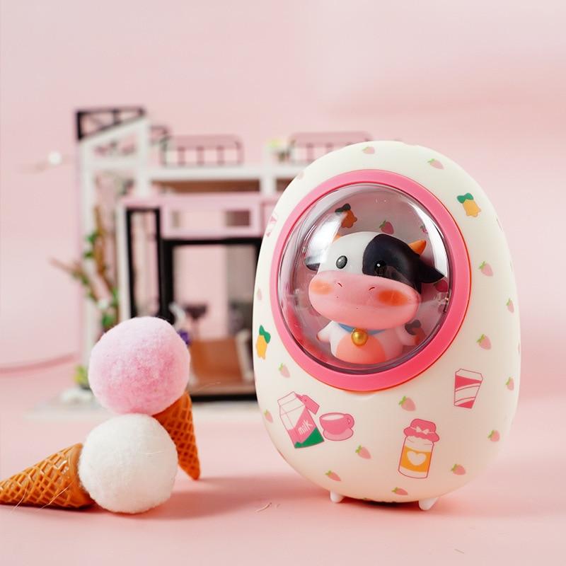 Kawaii Space Animal Capsule Hamster Power Bank & Hand Warmer 1