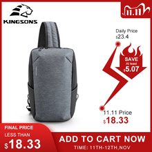 Kingsons 2020 New Style fatshion Tablet Chest Bag Large Capacity Waterproof Travel Cross Body Bag For Teenagers Hot