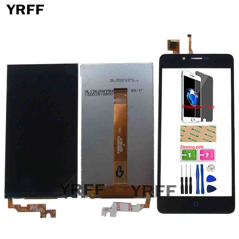 LCD Display For Vertex Impress Lion Dual Cam 3G LCD Display Digitizer Replacement Repair Panel Tools Protector Film