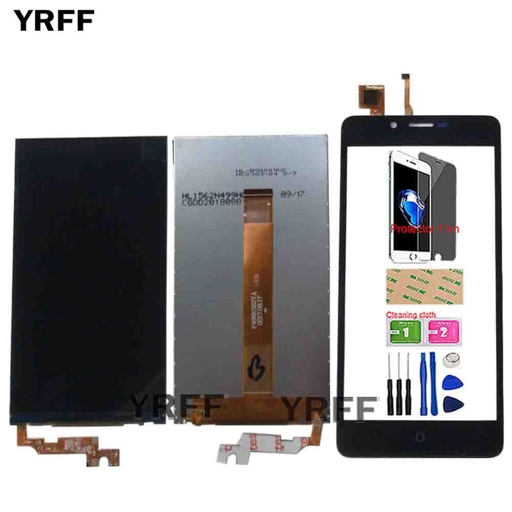 LCD Display For Vertex Impress Lion Dual Cam 3G LCD Display Digitizer Replacement Repair Panel Tools Protector Film