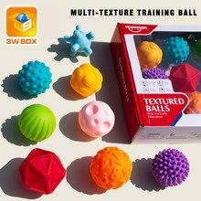 3wbox sensorial jogos para bebês banho bolha globbles bolas de treinamento do bebê brinquedos de borracha texturizado toque spray água brinquedos para crianças