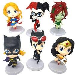 6 adet/takım süper kahramanlar Anime figürleri zehirli sarmaşık PVC aksiyon figürleri figürler tahsil bebekler çocuk oyuncakları