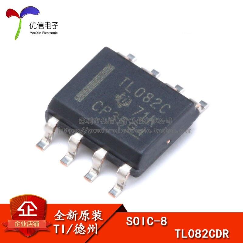 Оригинальный патч TL082CDR SOIC-8 одночип операционный усилитель
