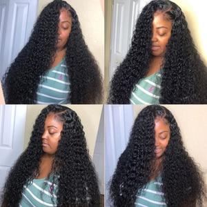 Image 5 - Brazil Sâu Sóng Bó Với Đóng Cửa 4*4 Freepart Phần Mở Rộng Tóc Người Brazillian Dệt Tóc Bó Với Đóng Cửa Remy tóc
