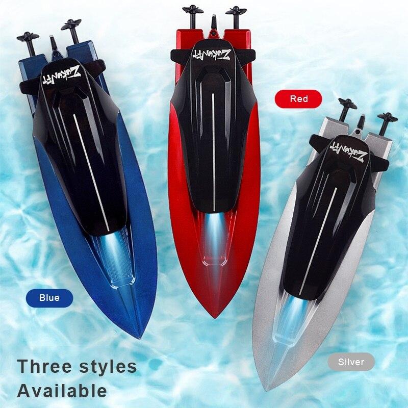 2.4ghz rc barco abs totalmente fechado sistema de refrigeração de água ao ar livre de alta velocidade de controle remoto barco de corrida bateria brinquedos para crianças