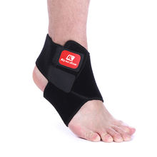 Регулируемый Эластичный компрессионный бандаж для лодыжки баскетбола