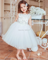 Girl's Clother Children's Graduation Revelry Luxurious Dress Beading Formal Dresses Lace Material Newborn Baptism Dress