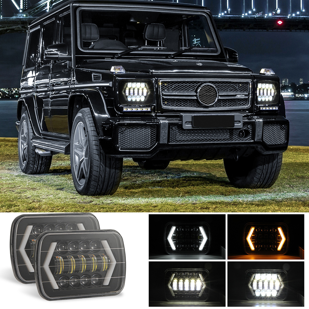 for Jeep Wrangler 300W 7 Inch Combo Led Light Bars Spot Flood Beam  Offroad Car Square LED Work Light Waterproof Fog Light-in Car Fog Lamp from Automobiles & Motorcycles