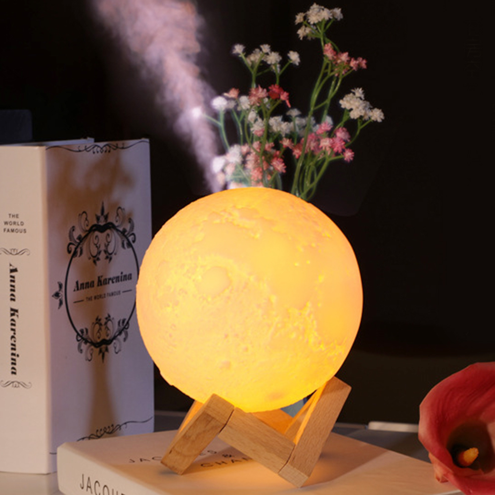 Atomizer Mist Maker Night Light Safely  Shape 3D Mist Purifier PVC Aroma Diffusor Large Capacity Anti-dry Office