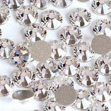 Блестящие стразы, стразы разных размеров, стразы с кристаллами, Лучший Бриллиант для украшения ногтей B2012