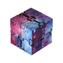 2021 New Starry Sky Vision Fidget Toy Autism Anti stress Creative Infinite Cube Magic Cube Office Flip Cubic Stress Reliever Toy