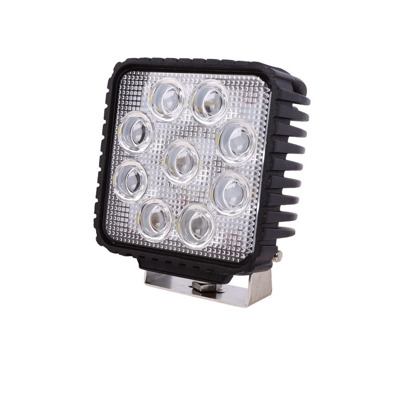27 W Square LED Work Light Car Repair Light Off-road Vehicle China Adapted Light Car Dome Light To Shoot The Light