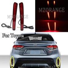 Luz LED de parachoques trasero para Toyota Corolla, Reflector trasero, lámpara de señal de giro trasera, para Toyota Corolla SE/LE/XSE/XLE US Edition 2019 2020