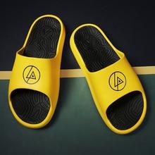 YEINSHAARS Men Slippers EVA Non-slip Outdoor Beach Flip Flops Summer Casual Shoes Man Slides Sandal Calzado Mujer