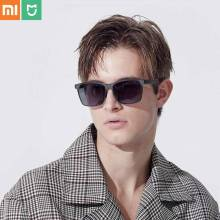 Xiaomi Mijia TS UV400 Polarized Lense Sunglasses Traveler Custom-made Grey Nylon Lens Glasses Eyewear Accessories Styling Tools xiaomi ts uv proof nylon polarized aviator sunglasses