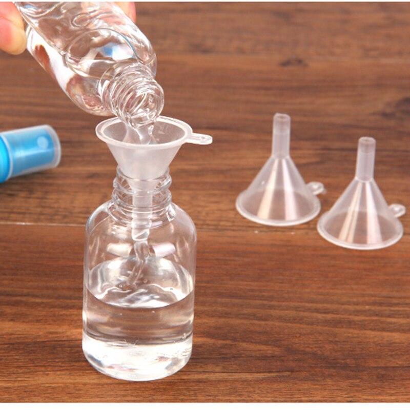 Portable Filling Empty Bottle Packing Tool Plastic Mini Small Funnels For Perfume Liquid Essential Oil Splitter