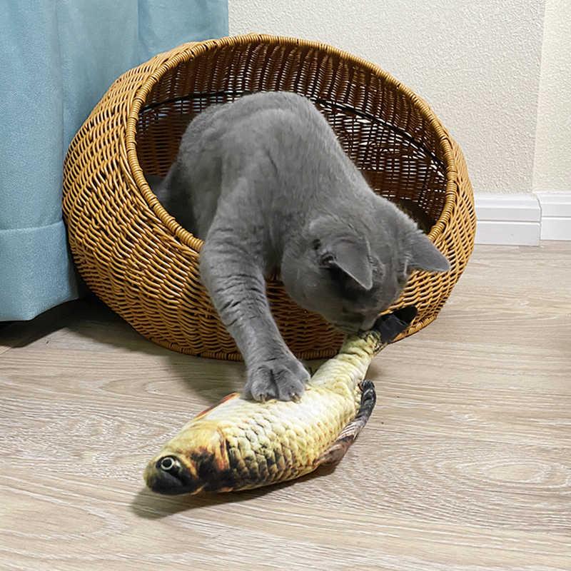 Elektroniczna kontrola dotyku kocimiętka śmieszne zabawki dla kotów akumulator uwalniający stres zabawki dla kotów Kitten psy domowe produkty