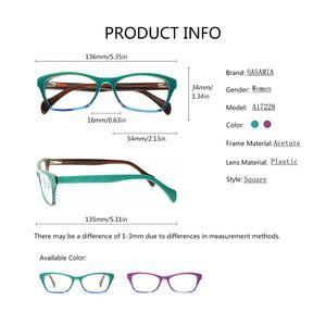 Image 4 - Glasses Frame Women Eyewear Frames Women Teal Retro Clear Glasses Myopia Spectacle Frame Optical Cat Eye Glasses Female Eyeglass