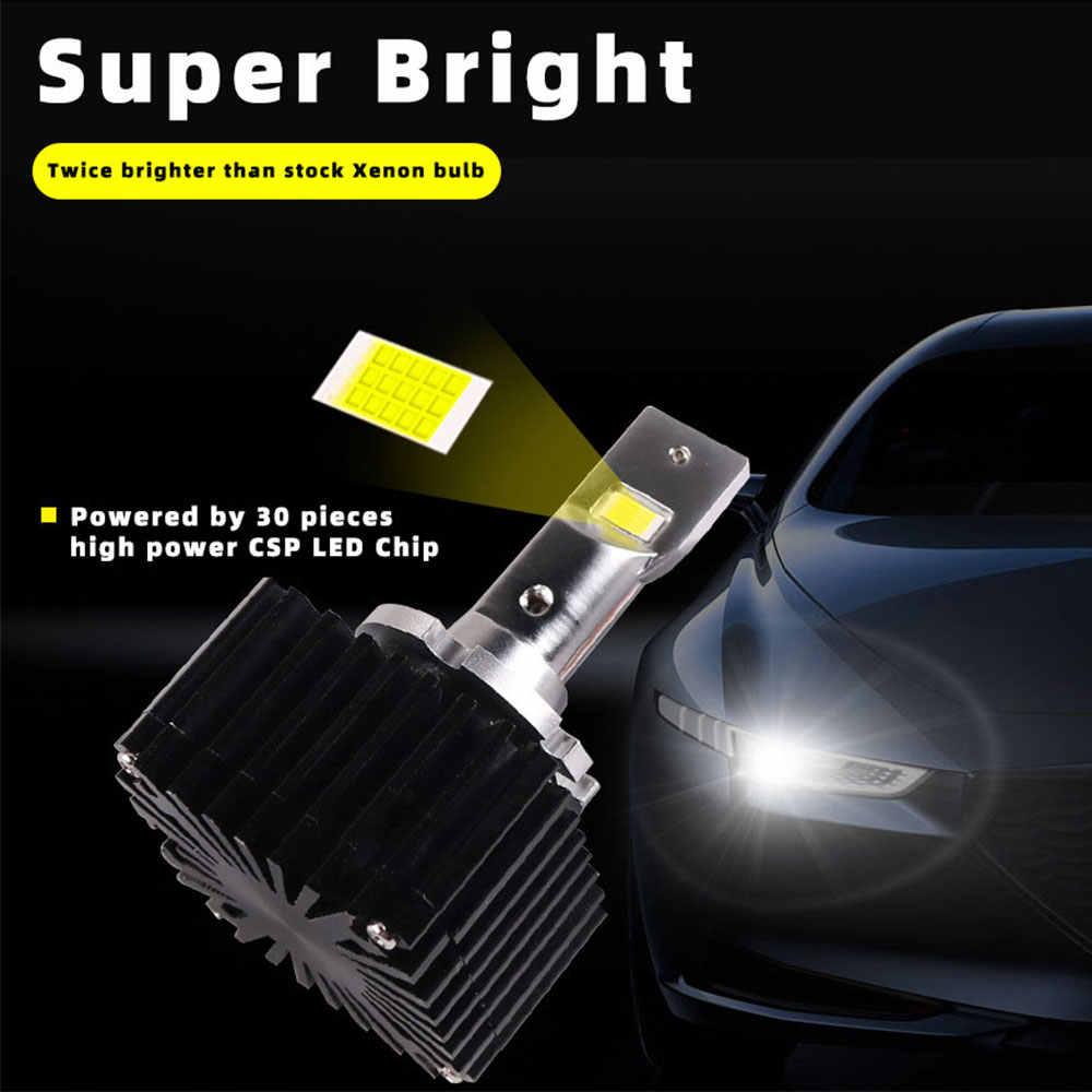 D1S LED ampul D3S D2R D2S D4S D5S D8S araba farlar lamba 35W doğrudan bağlantı tak oyna orijinal HID balast Canbus hata ücretsiz