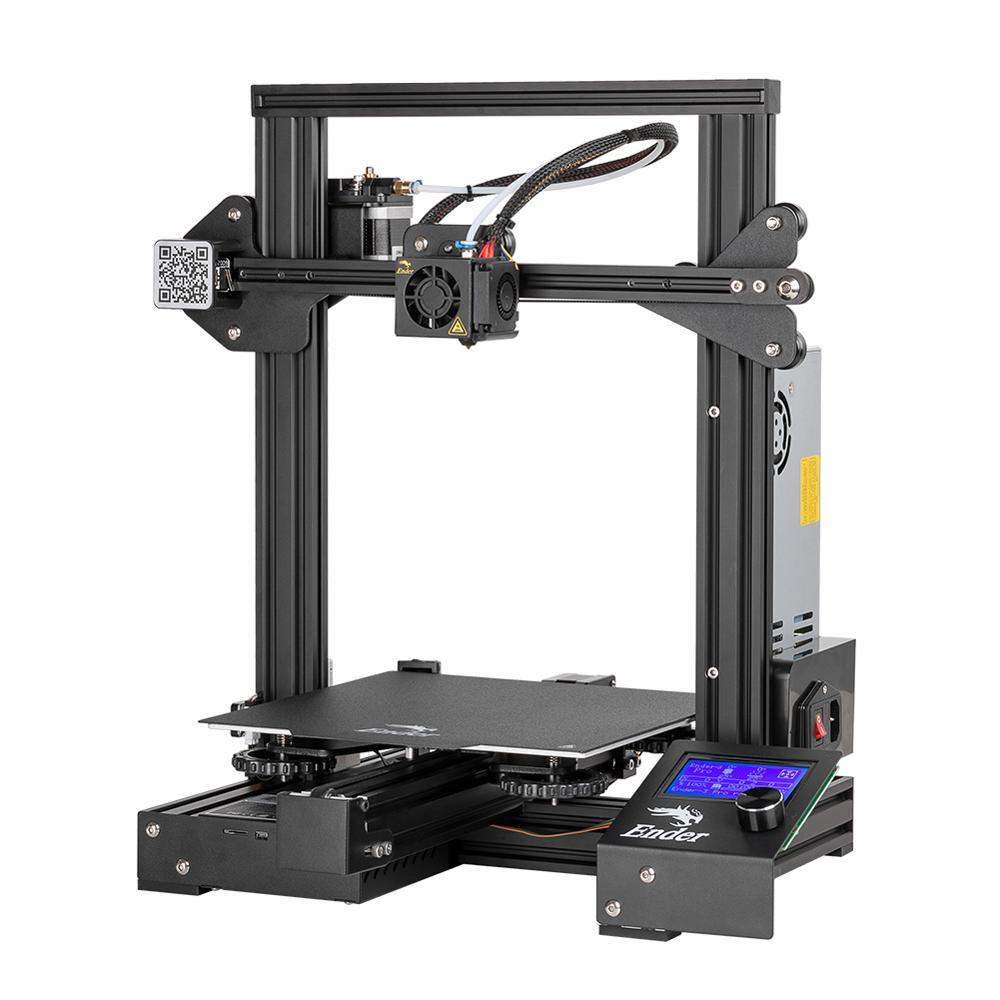 Image 2 - CREALITY 3D Ender 3 Pro drukarka drukowanie maski magnetyczna płytka podkładka wznowienie awaria zasilania drukowanie zestaw DIY zasilacz MeanWellfilament sensor3d printerprinter 3d -