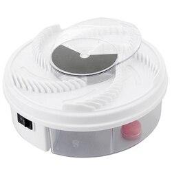 Elektryczny skuteczne pułapka na muchy szkodników urządzenie Catcher automatyczne muchołówka mała pułapka na muchy wzrok artefakty pułapka w Lampy owadobójcze od Dom i ogród na