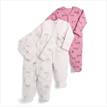 H693b90c038ec41f8a991bd012b414444K Baby Girl Romper Newborn Sleepsuit Flower Baby Rompers 2019 Infant Baby Clothes Long Sleeve Newborn Jumpsuits Baby Boy Pajamas