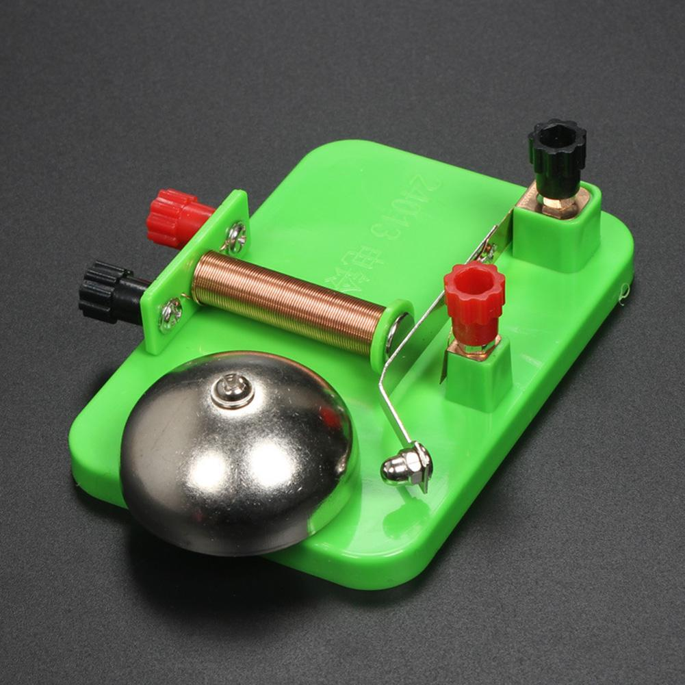 Electrical Trembler Bell Model Science Experiments Aids Developmental Kids Toy Stimulating Their Curiosity